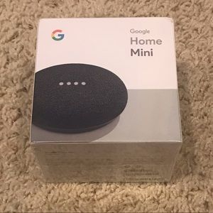 Google Home Mini Charcoal Brand New